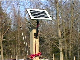 The ONLY Solar Panel With Adjustment Arm Tracker Included
